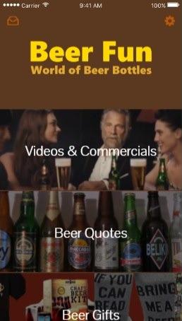 Beer Fun mobile app