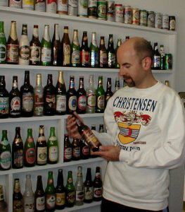 Ray's beer bottle collection