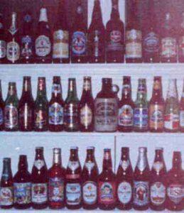 Microbrew & brewery beer bottles