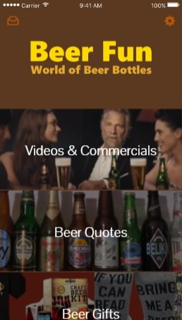 Beer Fun mobile app